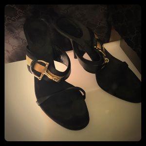 Gucci Black Classic Sandle